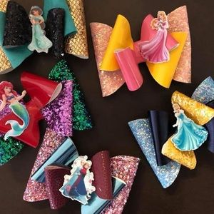 Disney princess bows